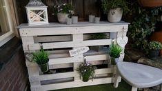 Van pallets maak je niet alleen meubels, je kunt pallets ook super gaaf decoreren! 9 voorbeelden.. - Zelfmaak ideetjes