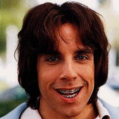 Ben Stiller - #adultbraces. I wonder when?
