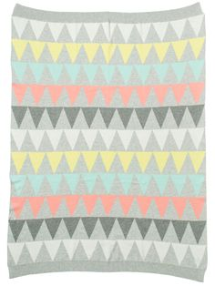 Cotton baby blanket  #color #pattern