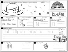 It's Morning! Wake Up Your Kinders! a FREEBIE