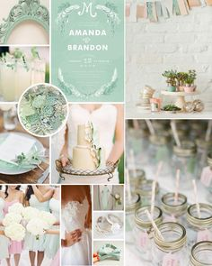 Pastel wedding ideas >> http://www.yesbabydaily.com/blog/pretty-pastels