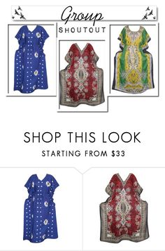 Womens House Caftan Dress by tarini-tarini on Polyvore featuring White Label