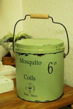 夏の必需品もお洒落なインテリアに☆蚊取り線香の缶は自分流にリメイクしよう♪ - Weboo