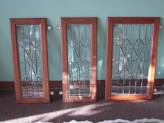 Beau Attention To Detail   Leaded Glass   B