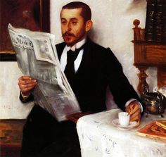 Portrait of the Painter Benno Becker - Lovis Corinth - 1892