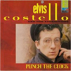 Elvis Costello & The Attractions - Punch The Clock LP
