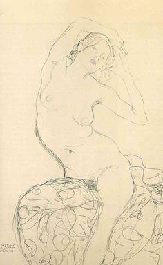 Gustav Klimt erotica sensual16