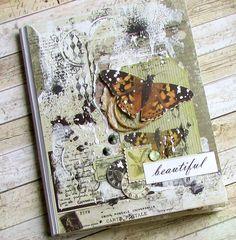 beautiful butterfly art journal inspiration - album
