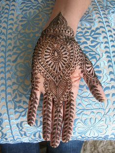 Arabic Mehendi/Henna Designs