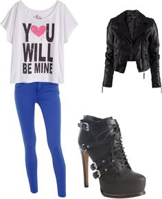 """c"" by karla-urquizo ❤ liked on Polyvore"
