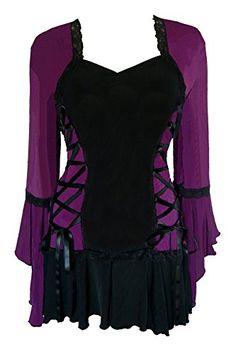 Dare To Wear Victorian Gothic Boho Women's Plus Size Bole... https://www.amazon.com/dp/B00JV4H4B4/ref=cm_sw_r_pi_dp_x_BVOjzbCE32KT0