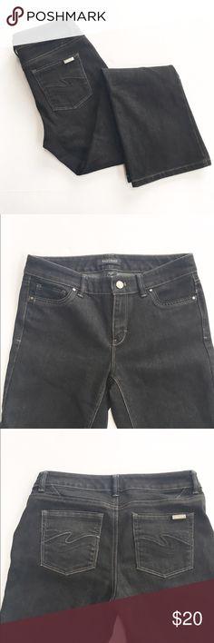 Black House White Market black bootcut jeans Like new! Black bootcut jeans from White House Black Market, size 4 short. White House Black Market Jeans Boot Cut