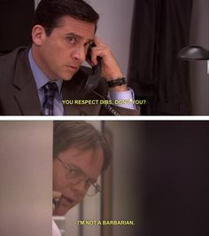 Michael Scott and Dwight Schrute, The Office The Office, Office Tv Show, Best Tv Shows, Best Shows Ever, Movies And Tv Shows, Office Memes, Office Quotes, Funny Office, Paper People