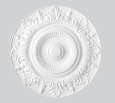 Our lightweight ceiling roses are weight of a traditional plaster ceiling rose. Transform your room in minutes Decorative Mouldings, Decorative Plates, Plaster Ceiling Rose, Ceiling Design, Roses, Eggs, Ocean, Lighting, Christmas