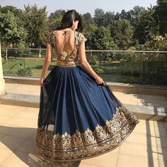 Do you need the best Modern Indian Sari also items such as Classic Sari plus Elegant Design Sari Blouse in which case CLICK VISIT link above for more options indianfashion Indian Wedding Outfits, Indian Outfits, Indian Attire, Indian Wear, Indian Lehenga, Blue Lehenga, Lehenga Choli, Lehenga Skirt, Desi Clothes