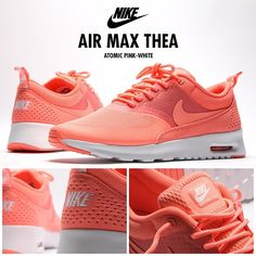 Nike Air Max Thea in Pink and White. This hybrid runner is back in another ladies colour-way that is sure to get the female sneaker heads excited! #footasylum #showusyoursneaks #nike