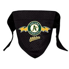 Hunter MFG Oakland Athletics Mesh Dog Bandana, Large *** Find out more about the great product at the image link.