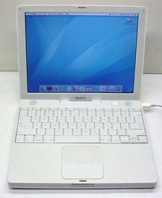 "Apple iBook A1133 G4 1.33Ghz 1.5GB/40GB/Combo/WiFi/Bluetooth/12.1"" display 879889002401   eBay"