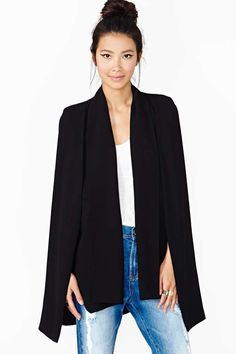 Elliatt Cape Blazer