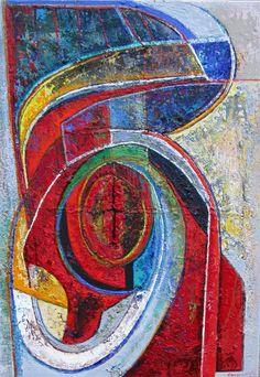 Ellen van Randeraat - verbondenheid Cubism Art, Abstract Art, Artwork, Painting, Color, Seeds, Work Of Art, Auguste Rodin Artwork, Painting Art