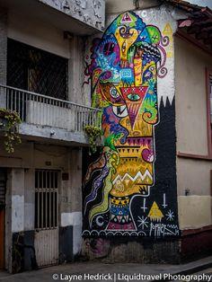 art street scene