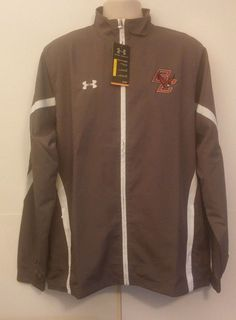 UNDER ARMOUR BOSTON COLLEGE EAGLES MENS LARGE FULL ZIP JACKET  #UnderArmour…