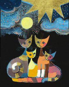 """Under Lightening Stars"" par Rosina Wachtmeister"