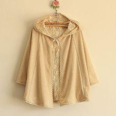 Reversible Lace Liner Strap Cloak Short Jacket on Etsy