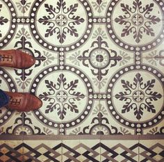 For those who respect all things #retro, here are typical Maltese #vintage tiles found in some one of our town houses.