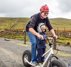 Some family fun on the Monster rollers at Afriski
