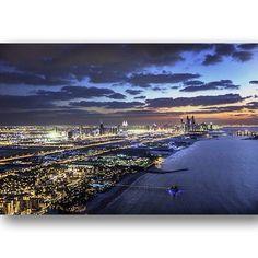 #Dubai #Burjalarab The helipad view - @ faz3- #webstagram