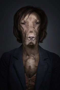 """""""Underdogs & Undercats"""" – Swiss Photographer Sebastian Magnani Dresses Up Pets Like Their Owners"""