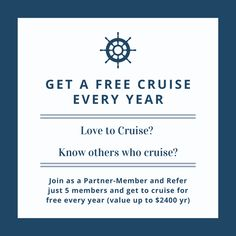 Find out how at www.cruising4free.co.uk Cruise, Cruises