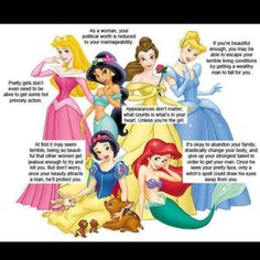 Disney values -- one way to look at it