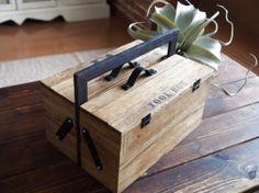 100均すのこと木箱とフォトフレームでTOOLBOX(工具箱)♪
