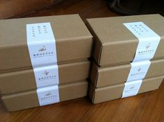 Dessert Packaging, Bakery Packaging, Cookie Packaging, Gift Box Packaging, Food Packaging Design, Packaging Stickers, Gifts For Coworkers, Box Design, Ideas