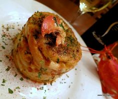 sneak peek at my creation...lobster pastitsio. you have to subscribe to my site www.kalofagas.ca to get the recipe.