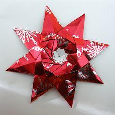 the kalami star #origami #paper #star
