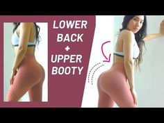10 Min Lower Back & Upper Booty Workout, Improve Your Posture! Booty Building Program#4 - YouTube