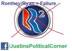 Romney/Ryan ticket = a colossal failure. #romneyfail