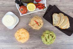 Sallys Rezepte - 3 leckere 5 Minuten-Grill-Dips / Brotaufstriche