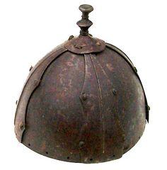 Mongolian helmet from the Yuan Dynasty