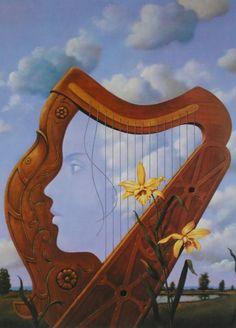Rafel Olbinski - 20 Inspirational Surreal Paintings  <3 <3