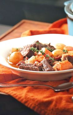 Best Ever Crockpot Beef Stew (no, for real, it is)