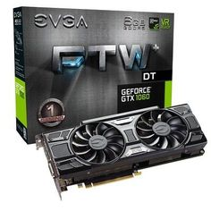 EVGA GeForce GTX 1060 6GB FTW DT GAMING ACX 3.0 6GB GDDR5 LED DX12 OSD Suppo