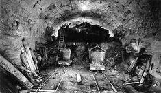 Paris subway under construction near 1930 Saint Martin, Saint Michel, Metro Paris, Musee Carnavalet, Under Construction, Paris France, Past, Medieval, Black And White