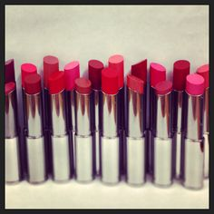 Look at this lineup! What is your favorite shade of Mary Kay® True Dimensions™ Lipstick?
