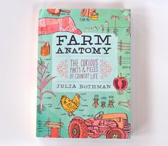 beautiful farm anatomy book.   i want to rip out every page and hang them on my wall...