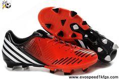 Discount Infrared-Running White-Black Adidas Predator LZ TRX FG (G63508) Football Shoes Shop