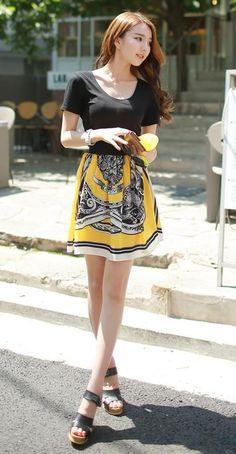Korean Fashion #fashion -  pretty -  #dress -  cute